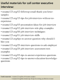 Resume Sample Call Center by Top 8 Call Center Executive Resume Samples