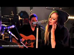 wish you were here avril lavigne walmart soundcheck youtube