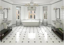 black and white bathroom tile white subway tile bathroom riesco