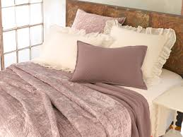 Matte White Bedroom Bedroom Beige Pine Cone Hill Bedding With White Pillows For