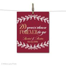 20th anniversary gift ideas 20th anniversary gift for husband or for 20th wedding