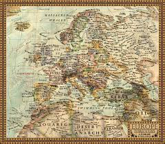 Map Of Europe 1938 by Map Of The Stereotypes Europe By Jaysimons On Deviantart
