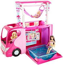 amazon barbie pop camper vehicle toys u0026 games