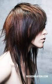 long shag hairstyle pictures with v back cut if i had enough guts for this cut long layered shag back view