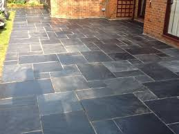 Design For Outdoor Slate Tile Ideas Outdoor Slate Floor Tiles Contemporary Patio Chicago By Throughout