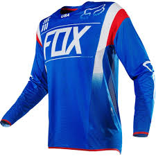 usa motocross gear fox new mx 2016 flexair mxon le blue white red motocross