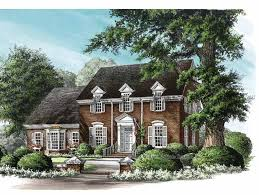 Federal Home Plans Eplans Adam Federal House Plan The Leesburg 2784 Square Feet