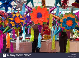 decorations for sale beautiful vividly colored pinatas other christmas decorations
