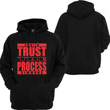 trust the process 76ers hoodie sweatshirt long sleeve t shirt
