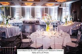 wedding venues orlando four seasons resort orlando soundwave entertainment wedding