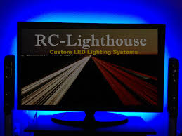 led strip lights for tv tv television back light inches rgb rc lighthouse