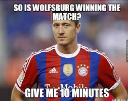 Lewandowski Memes - 5 goals in 9 minutes time for robert lewandowski bundesliga