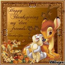 happy thanksgiving to all my deer friends picture 102854893