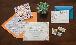 wedding invitation companies derek tile wedding invitations whimsy design