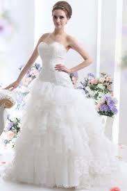 raw silk ball wedding dress drop waist