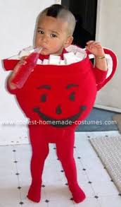 4 Month Halloween Costume Coolest Homemade Baby Kool Aid Man Costume Toddler Halloween