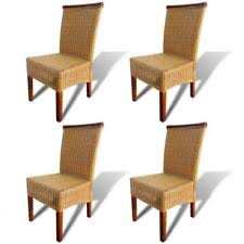 rattan dining room chairs ebay