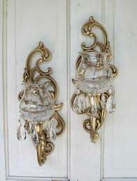 26 home decor candle sconces colonial brass candle wall sconces