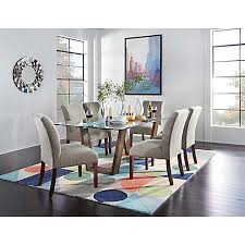 Upholstered Chairs Dining Room Upholstered Parsons Collection Casual Dining Dining Rooms