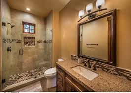 Elegant Country Homes Bathroom Rustic With Glass Tile San - Bathroom design san francisco