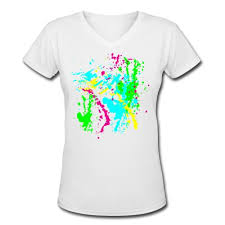 custom spray paint shirts spray paint splatter colorful graffiti graphic design picture