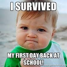 Teacher Back To School Meme - happy back to school literacy teaching and teacher education