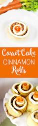 confira esta receita de carrot cake cinnamon rolls with cream