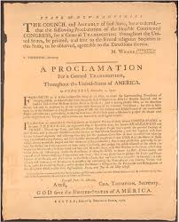 thoughts of our nation s thanksgiving dec 18 1777