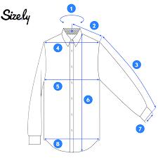 how to measure a dress shirt