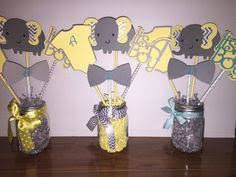 elephant centerpieces for baby shower elephant theme elephant centerpieces stick elephan baby shower