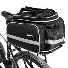 bicycle waterproofs amazon com campstoor mountain bike bag 600d multi functional