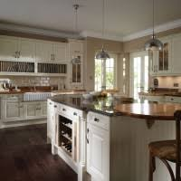 Kitchen Island With Wine Rack - modular shaped kitchen island with glass doors and wine rack for