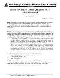 motion to vacate dismissal fill online printable fillable