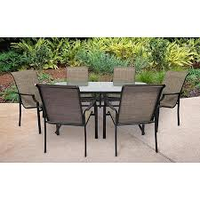 7pc Patio Dining Set Ss 355 2set Fairfield 7 Pc Patio Dining Set Sears Outlet