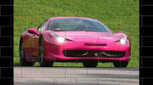 car ferrari pink pink ferrari 458 italia youtube