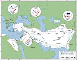 Map Of Greece And Surrounding Countries by Wars And Conquests Of Alexander The Great