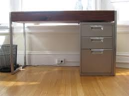 Desk With Filing Cabinet Drawer Filing Cabinet Desk Desk