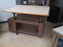 Workbench Gallery Formaspace Drafting Table With Parallel Bar Included Small Drafting Table