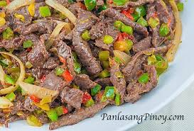 quick and easy beef and pepper stir fry panlasang pinoy