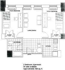 two apartment floor plans drawing apartment floor plans thecashdollars com