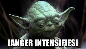 Meme Generator Yoda - anger intensifies yoda cant even meme generator