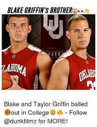 Blake Griffin Memes - blake griffin s brother one r blake and taylor griffin balled out