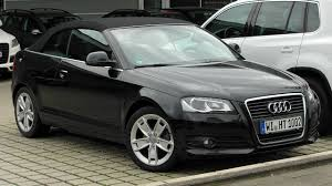 black audi convertible file audi a3 cabriolet 2 0 tdi front 20100919 jpg wikimedia commons