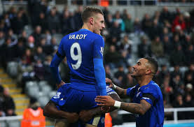 b premier league table leicester city are top of the english premier league table