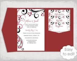 diy pocket wedding invitations pocket wedding invitation template diy pocketfold wedding
