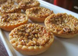 thanksgiving dessert buffets go bite size mini southern pecan pies