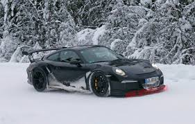 porsche winter 2015 porsche 911 gt3 rs winter testing spy shots photo gallery