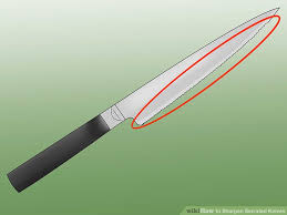 best sharpening for kitchen knives how to sharpen serrated knives 12 steps with pictures wikihow