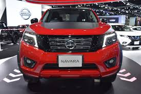 nissan black 2017 nissan navara black edition front at 2017 bangkok international