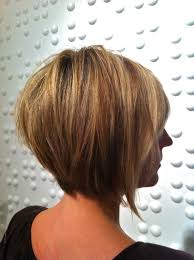 a frame hairstyles with bangs short stacked hairstyles with bangs stacked detail for short